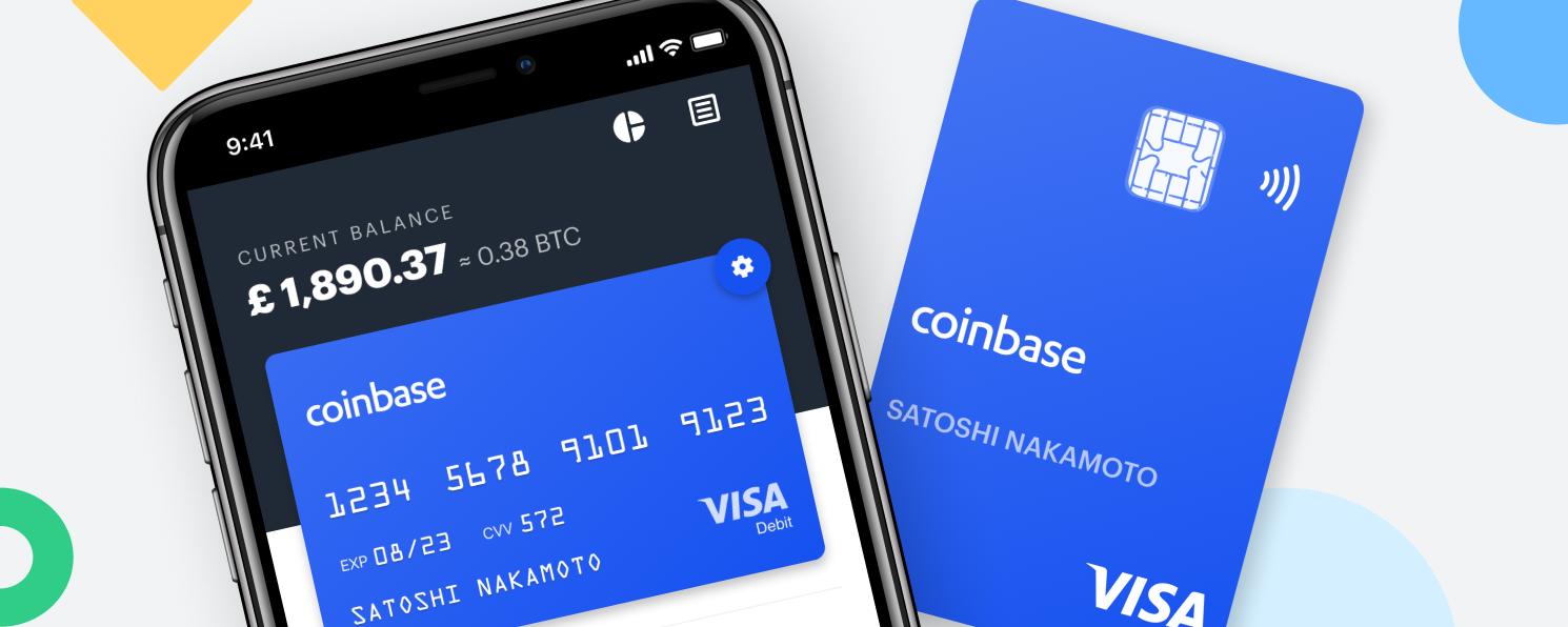 Coinbase sāk piedāvāt VISA kartes.